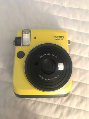 Instax mini 70 camera for Sale in Marietta, GA
