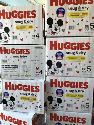 Huggies size 4 n 5 PRICE FIRM for Sale in Garland, TX