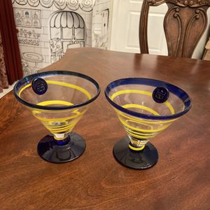Caribbean Korta Bogs Martini Glasses for Sale in Zephyrhills, FL