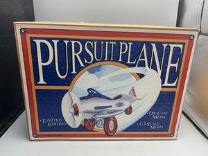 1993 Xonex Limited Edition 1/3 Scale Pursuit Plane Die Cast Metal for Sale in West Palm Beach, FL