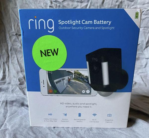 Brand New Ring Spotlight Cam