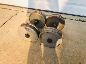 Dumbbells - Weights - Barbell - Gym Equipment - Workout - Exercise - Fitness for Sale in Downers Grove, IL
