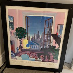 Tomas McKnight Painting In New York for Sale in Pompano Beach,  FL