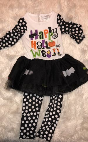 Halloween outfit toddler girl for Sale in Midland, TX
