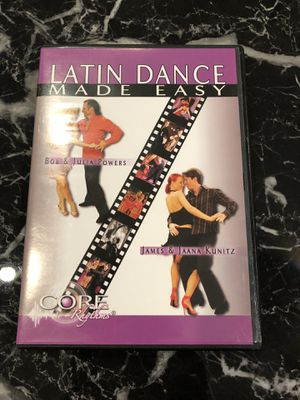 Latin dance tutorial dvd for Sale in Niceville, FL