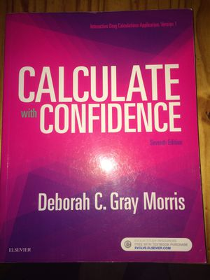 Math calculations for health care for Sale in Penrose, CO