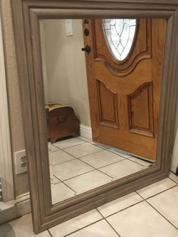 """Wall Mirror Size 39""""X 45"""" Excellent Condition for Sale in Fresno,  CA"""