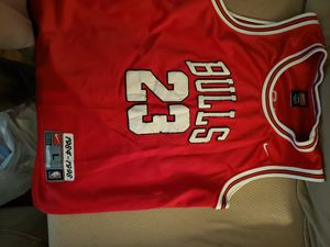 Youth LG Michael Jordan stitched jersey for Sale in Phoenix, AZ