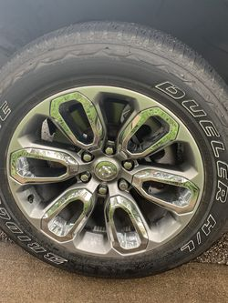 Truck Tires, 20in Rims/Wheels, 6-lug for Sale in Waco,  TX