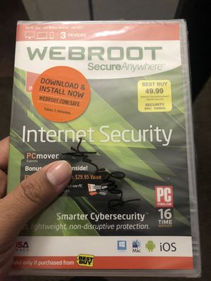 Webroot brand new sealed for Sale in Sacramento, CA