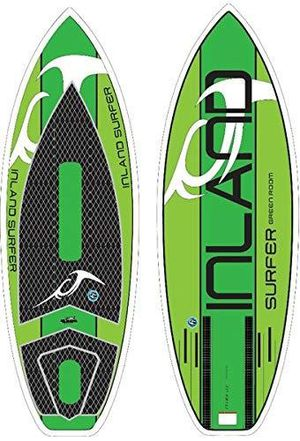 Inland surfer green room wake surfboard for Sale in Modesto, CA
