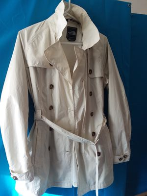 Cream North Face Trench Raincoat for Sale in Adelphi, MD