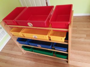 Kids toy organizer/ storage for Sale in Redmond, WA