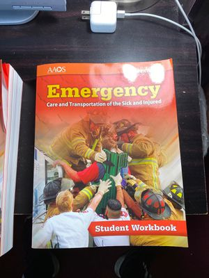 EMT Emergency care and transportation of the sick and injured 11th Edition for Sale in Vallejo, CA