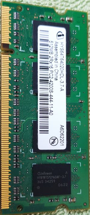 Laptop memory PC2-512MB-4200S for Sale in San Jose, CA