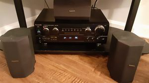 Panasonic Reciever with 3 Panasonic speakers for Sale in Dundalk, MD