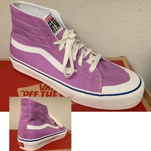 Vans Sk8 high Decon 138 men's - sizes 9.5 and 10 for Sale in Industry, CA