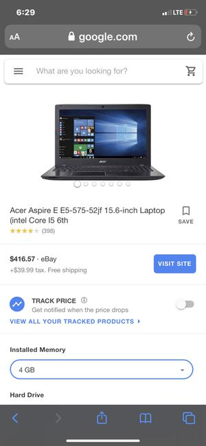 Acer lap top for Sale in Blue Springs, MO