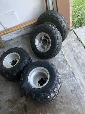 Itp trx 450r tires & rims for Sale in Houston, TX