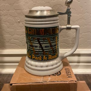 Green Bay Packers 3 Time Super Bowl Champs Stein for Sale in Gilbert, AZ