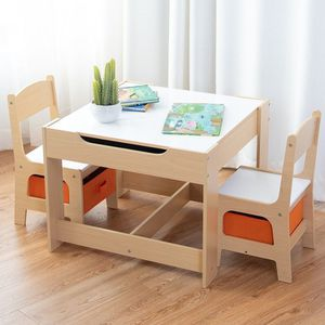 Kids Table and Chair Set with Storage Boxes for Sale in Rosemead, CA