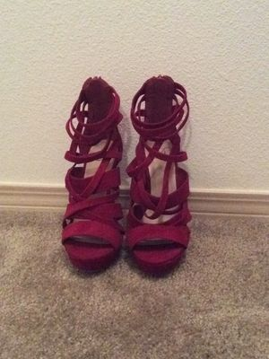 Size 7.5 Red heels for Sale in Vancouver, WA