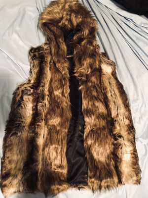Unisex Faux Fur Vest for Sale in Chicago, IL