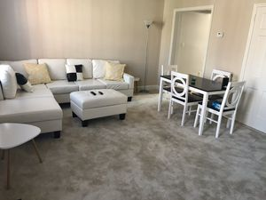 Sectional couch & dining table for Sale in Alexandria, VA