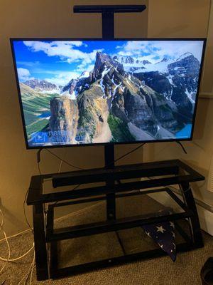 55'' Insignia 4K UHD Roku Smart TV with Entertainment Set & Speaker for Sale in Denver, CO