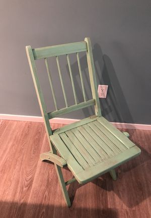Antique folding chair for Sale in San Diego, CA