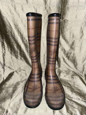 Burberry Rain boots for Sale in Dallas, TX