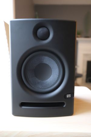 Eris E5 studio monitors with cables for Sale in Snellville, GA