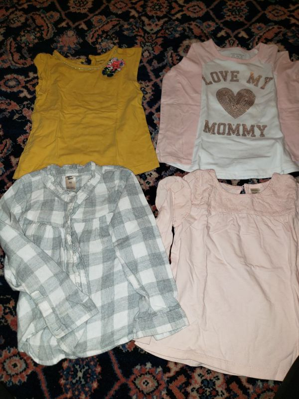 5T T-shirts, pajamas, sweaters, dresses size