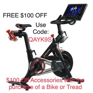Free $100 off Peloton Purchase for Sale in FL, US