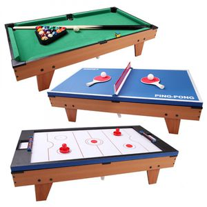 3-in-1 Air Hockey Ping Pong Billiard Multifunctional Sports Table for Sale in Las Vegas, NV