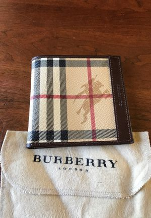 Men's Burberry wallet for Sale in CT, US