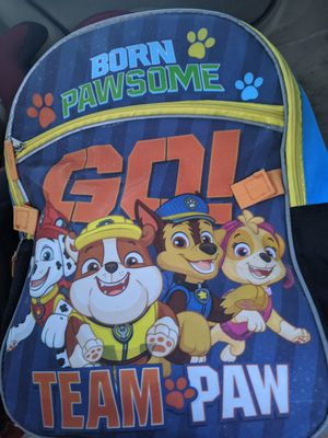 Paw patrol bookbag for Sale in High Point, NC