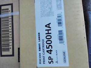 Ricoh black print cartridge SP4500HA for Sale in Fontana, CA