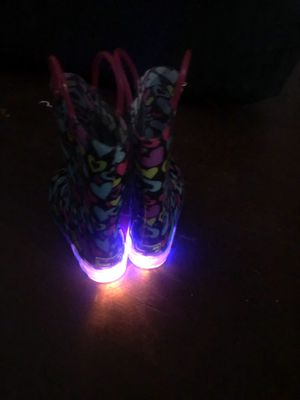 Light up rain ☔️ boots sz. 13 for Sale in Columbus, OH