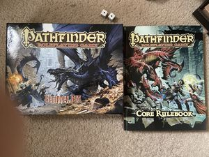 Pathfinder Beginner Box+Core Rulebook for Sale in Concord, CA