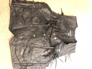 Leather vest for Sale in Chicago, IL