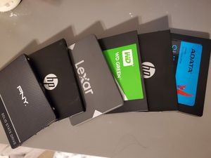 Ssd memory for pc 500gb & 1tb for Sale in Riverside, CA