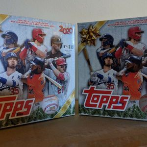 2020 Topps Holiday MLB Baseball Trading Cards Mega Box for Sale in Bethesda, MD