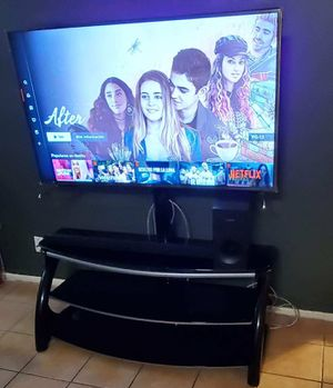 TV stand all for 500 good conditions not damage for Sale in Palatine, IL