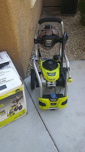 Ryobi gas pressure washer 3100psi for Sale in North Las Vegas, NV