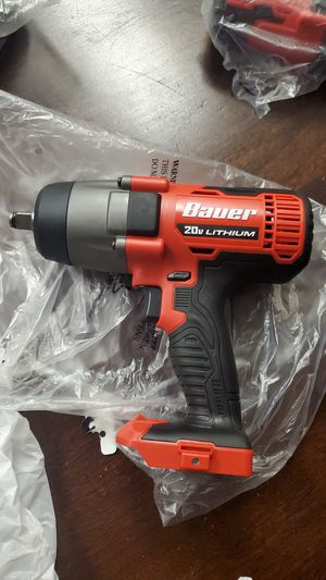 Bauer 1/2 impact wrench for Sale in Bakersfield, CA