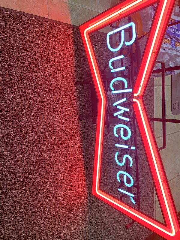 Neon Budweiser Sign Brand New for Sale in Sacramento, CA