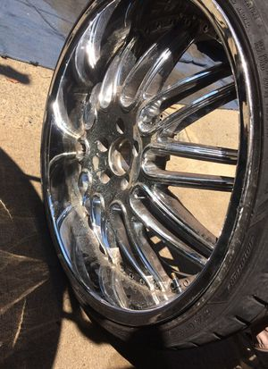 22inch rims with spacers for Sale in Philadelphia, PA