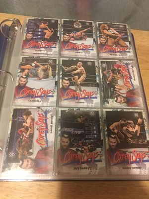 Lot of Wwe smackdown 2019 cards for Sale in Stockton, CA