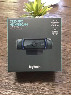 Logitech C920 HD Pro Webcam Brand New for Sale in Wichita, KS